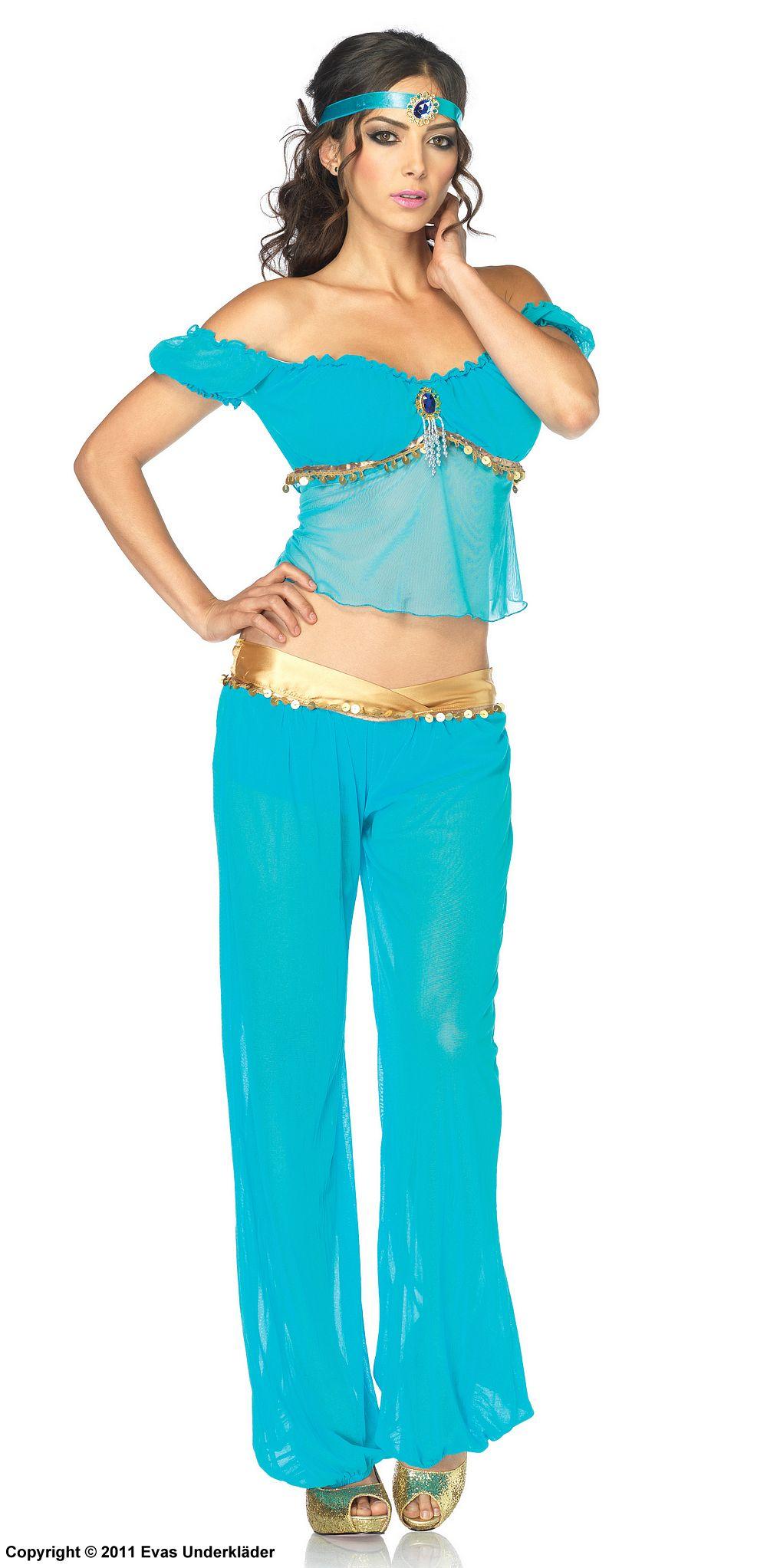 Arabisk prinsessa, maskeradkläder
